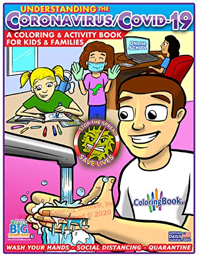 Understanding the Coronavirus - COVID-19 Coloring Activity Book for Kids