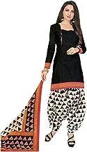 Ladyline Ethnic Printed Cotton Salwar Kameez with Salwar Pants