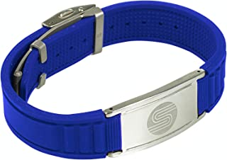 Satori 4 in 1 Negative Ion Band, Germanium, Silicone,Charged With Negative Ions, The Ionic Wristband And Stylish Bracelet, For Men And Women