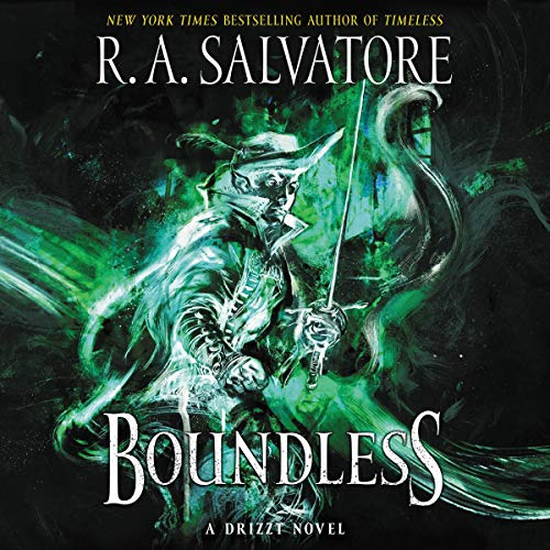 Boundless: A Drizzt Novel audiobook cover art