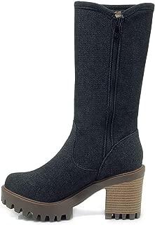 BalaMasa Womens ABS14168 Pu Boots