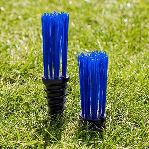 FORZA StadiumMax Mechones para Marcar Campos | Marcadores para Enroscar [25 Unidades] (Azul)