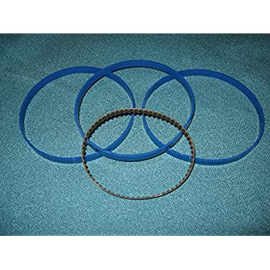 BLUE MAX ROUND DRIVE BELT AND 3 BAND SAW TIRES FOR LUDELL BS14UL BAND SAW
