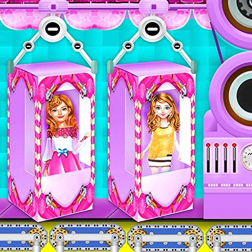Traumpuppenfabrik: Fashion Doll Makeup House | Puppendekorationsspiel | Doll Maker Games | Makeup Games 2020 | Doll Dress Up | Neue Makeup Spiele | Hochzeit Dolly | Maskenbildner | Schönheitssalon | M