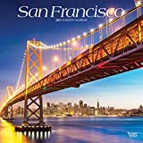 San Francisco 2021 12 x 12 Inch Monthly Square Wall Calendar, USA United States of America California Pacific West Coast City