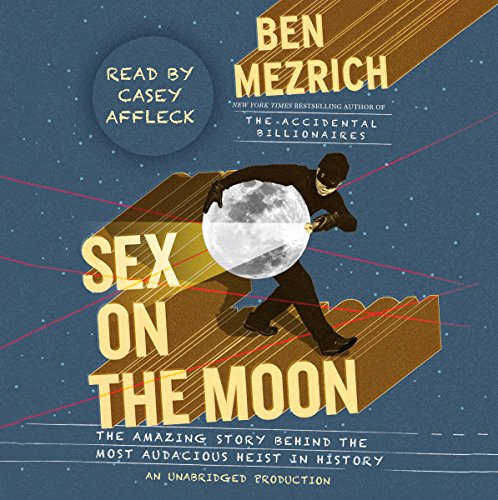 Sex on the Moon audiobook cover art