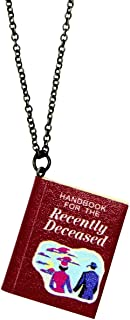 Beetlejuice Handbook for The Recently Deceased Necklace Licensed