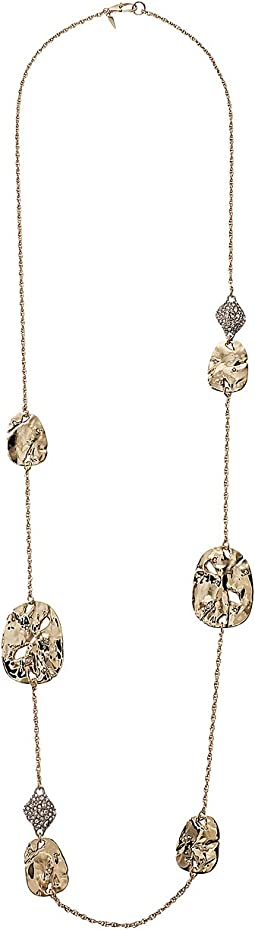 Alexis Bittar - Rocky Medallion and Crystal Pod Station Necklace