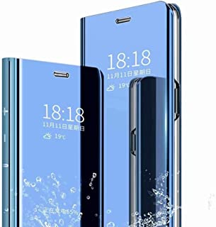 BAIDIYU Case for Oppo A73 5G Phone Case, Mirror-faced Smart Flip Protective Shell, Full Protection, Cover Case for Oppo A7...