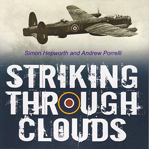 Striking Through Clouds audiobook cover art