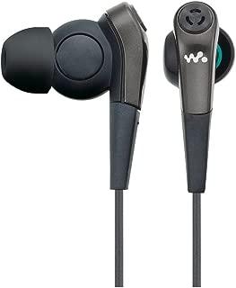 ソニー SONY イヤホン MDR-NWNC33 : ノイズキャンセリング機能搭載ウォークマン専用 カナル型 ブラック MDR-NWNC33 B