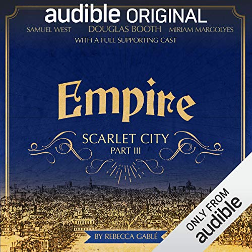 Empire: Scarlet City - Part III audiobook cover art
