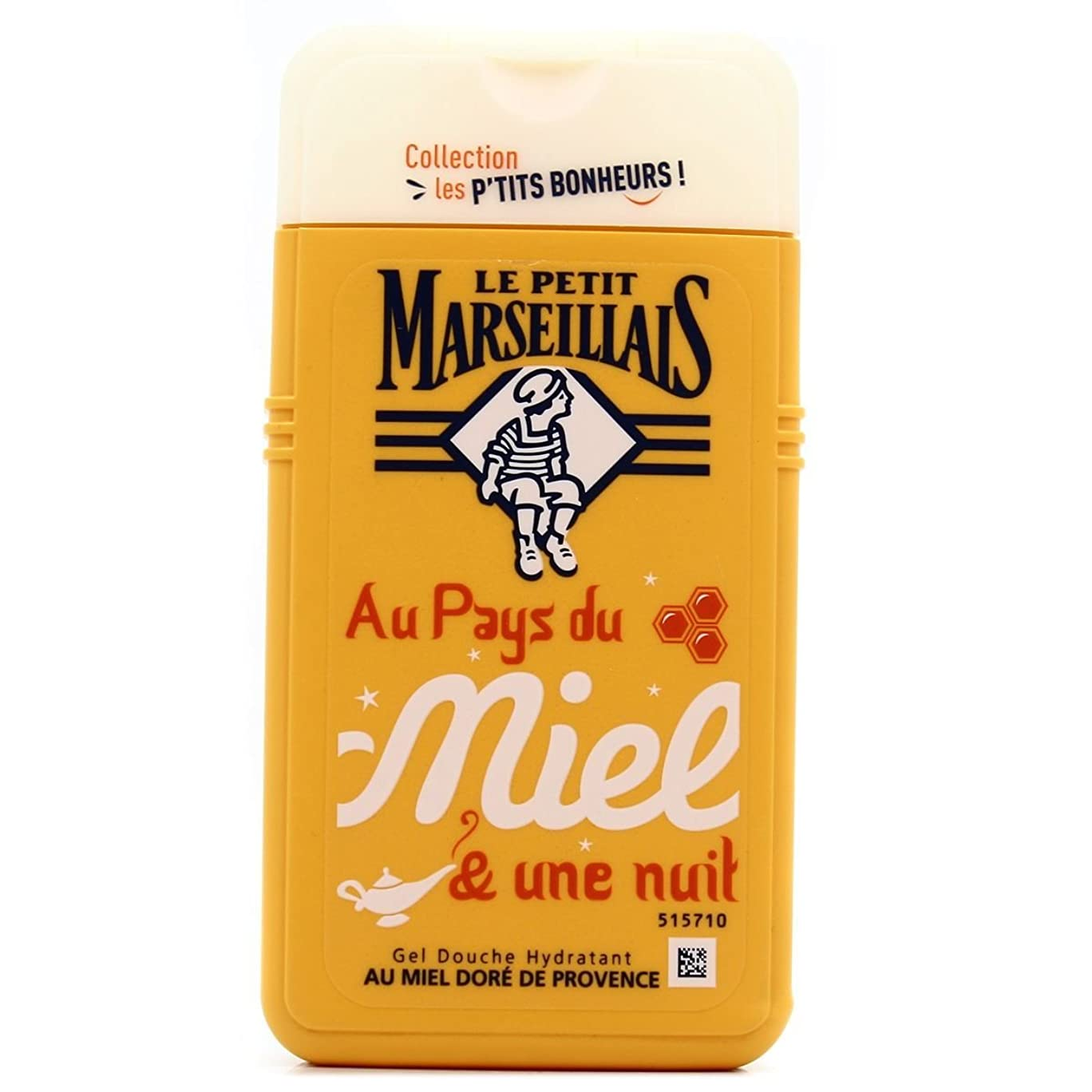 素朴なブラウズ冷酷な「はちみつ」シャワージェル ???? フランスの「ル?プティ?マルセイユ (Le Petit Marseillais)」 les P'TITS BONHEURS 250ml ボディウォッシュ