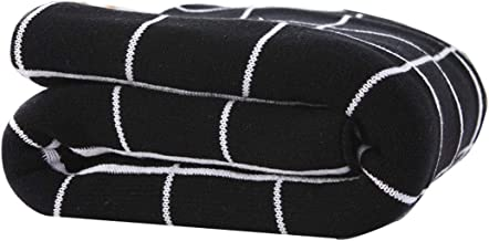 Throws Blanket Soft Comfy Fluffy Cozy Plush Blanket for Sofa Couch Single Bed All Season Plaid Blanket for Bed Couch Car (...
