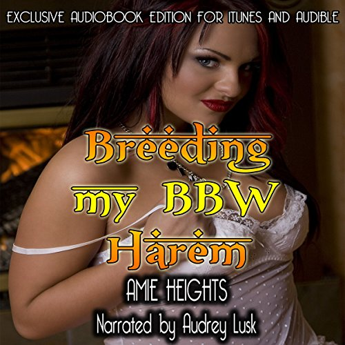 Breeding My BBW Harem audiobook cover art