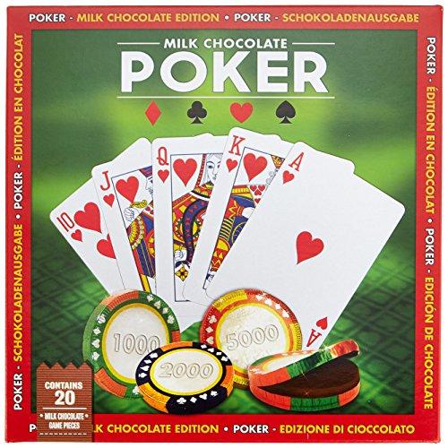 Chocolate Games Schokoladenspiel Poker, 1er Pack (1 x 104 g)