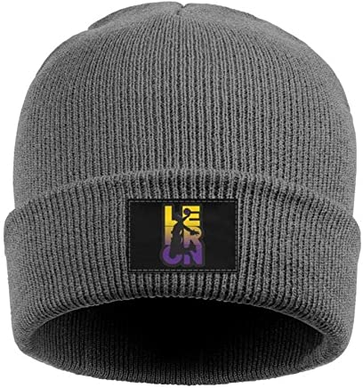 436a3a73 SDHAK Lebron-Cool-James Goat Woolen Beanie Hats Warm Slouchy Skull Cap for  Men