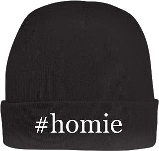 Shirt Me Up #Homie - A Nice Hashtag Beanie Cap