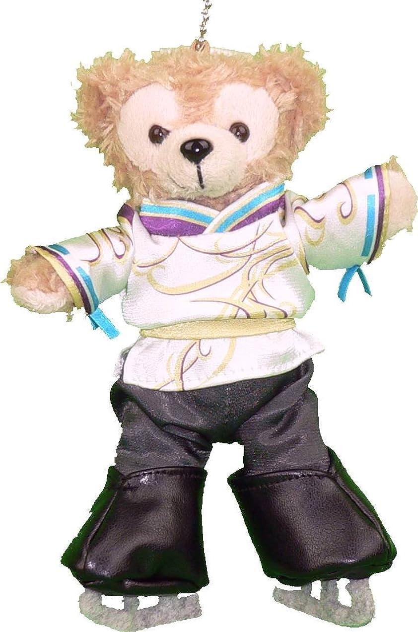分類するまたはどちらか不忠ダッフィー ぬいバサイズ用 男子フィギュアスケート 陰陽師風コスプレ衣装 (スケート靴あり)