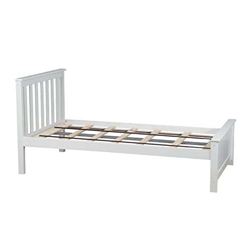 White Twin Bed: Amazon.com