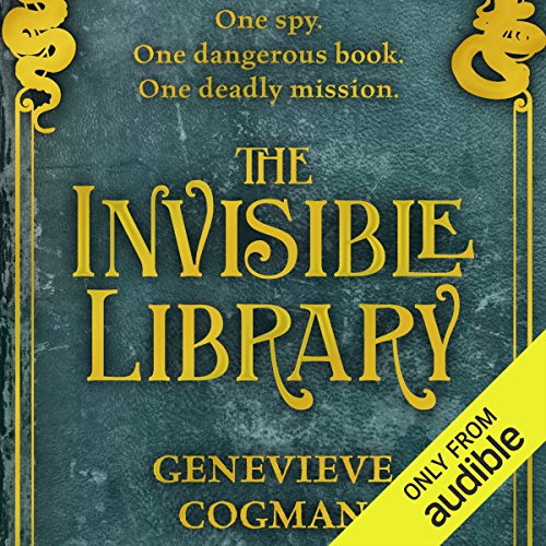 The Invisible Library                   De :                                                                                                                                 Genevieve Cogman                               Lu par :                                                                                                                                 Susan Duerden                      Durée : 10 h et 31 min     1 notation     Global 5,0