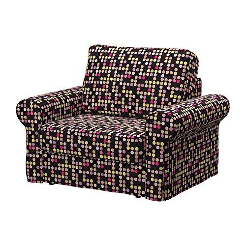 Soferia - IKEA BACKABRO Funda para sillón, City Black
