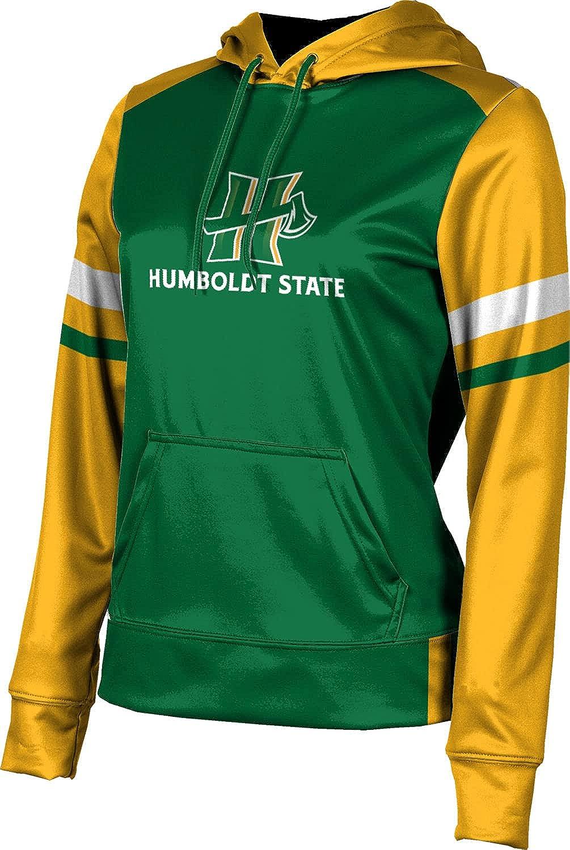 Humboldt State University Girls' Pullover Hoodie, School Spirit Sweatshirt (Old School)