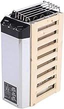 Liukouu Calentador de Sauna, 3KW Tipo de Control Interno Acero Inoxidable Estufa de Sauna Calentador Herramienta de Calentamiento para Sala de Sauna Estufa de Sauna de 220V