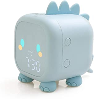 Sveglia Creativa Cool LED Cartoon Dragon Sveglia, orologio da comodino digitale intelligente, luce notturna, sveglia per b...