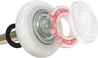"DURA-LIFT Ultra-Life MAX 2"" Sealed 6200ZZ Bearing Nylon Garage Door Roller, 4"" Stem, Pack of 10"