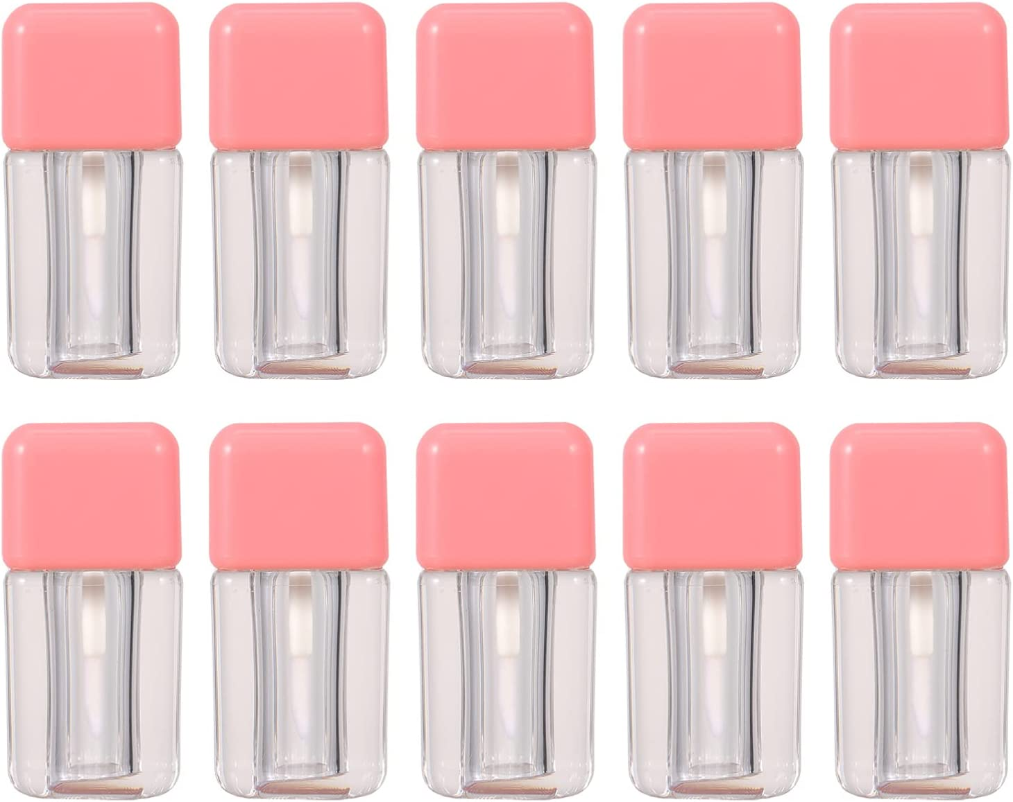 Beaupretty 10pcs Empty Lip Gloss Refillable Balm Tub Bottles Popular overseas Opening large release sale