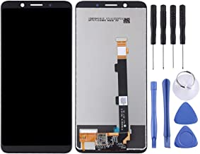 Mobile Phone LCD Screen LCD Screen and Digitizer Full Assembly for Oppo A73(Black) Oppo LCD Screen (Color : White)