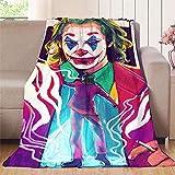 Elliot Dorothy The Joker - Manta infantil para bebé, adultos o mascotas, microfibra, colorido, 70'x80'(W178cmxL203cm)