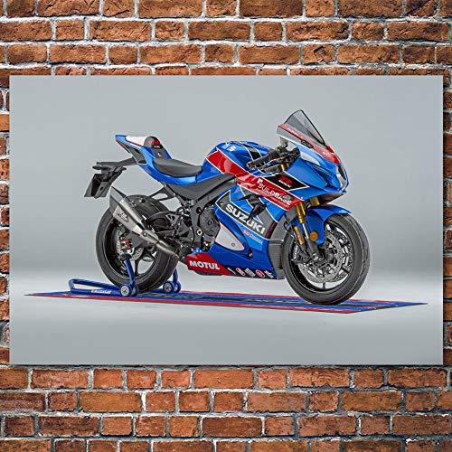 Superbike Deportiva Puzzle Adulto 1000 Piezas Se Puede Usar como un Juego de Rompecabezas o Pelota de estrés para Adultos 50x75cm