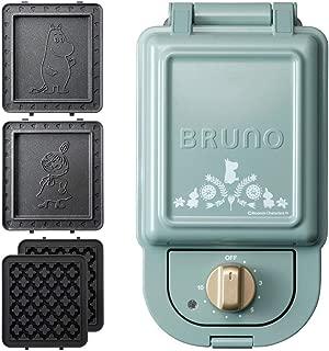 BRUNO Hot sand maker + waffle plate 2 kinds plate set (moomin, single) Japan Import