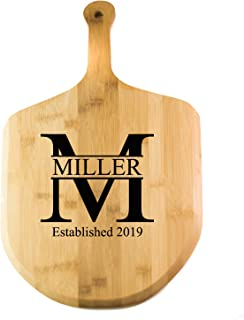 Personalized Pizza Paddle | Bamboo Wood Paddle Board - Miller Design