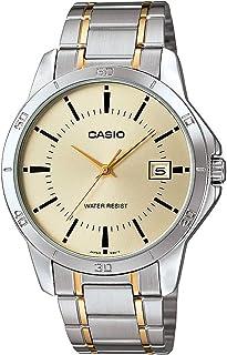 كاسيو ساعة للرجال - ستانلس ستيل - MTP-V004SG-9AUDF