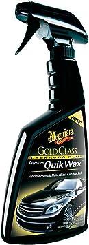 Meguiar's G7716EU Gold Class Carnauba Plus Premium Quik Spray Wax 473ml: image