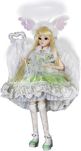 EVA BJD Forest Angel Lucy 1 3 BJD Puppe Komplettsatz 24  Gelenkpuppen Spielzeugfigur + Voll Zubeh