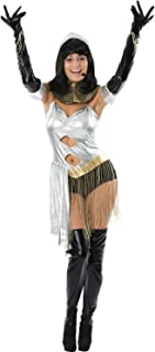 Orion Costumes Womens The Bodyguard Diva Showgirl 90s Movie Fancy Dress Costume Silver