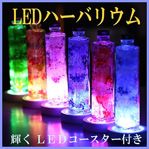 アートフォーシーズン『LEDハーバリウムプリザーブドフラワー』