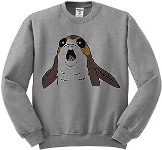 TeesAndTankYou Screaming Space Creature Sweatshirt Unisex