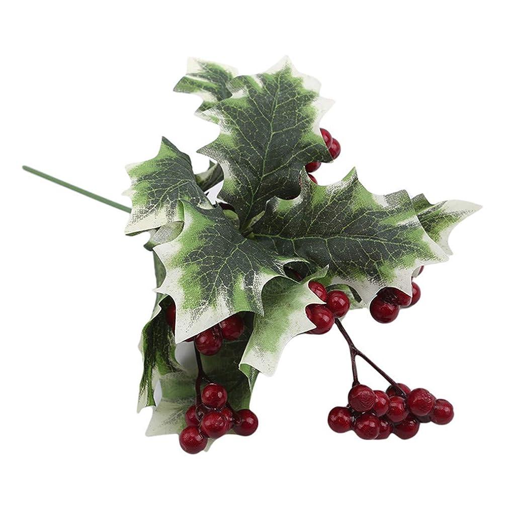 測定可能誓約爬虫類JIOLK ベリー造花人工の果実人工植物人工ベリークリスマスデコレーションインテリア飾り物 ナチュラル風結婚式の装飾