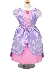 ディズニー ちいさなプリンセス ソフィア おしゃれドレス キッズコスチューム 女の子 100cm-110cm