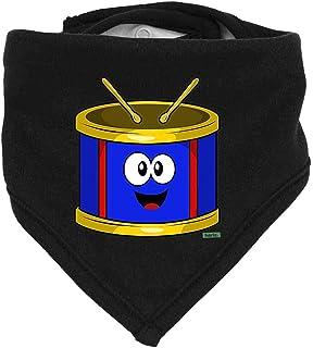 Hariz Baby Halstuch Tambor Lachend Instrumento Niño Witizg Plus Geschenkkarten Pinguin Negro