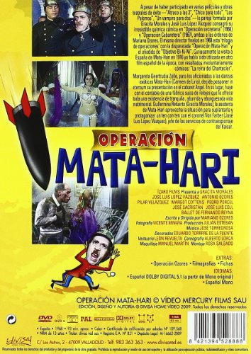 Operacion Mata-Hari [DVD]