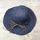 Sombrero De Playa para Nuevos Sombreros De Verano De Sol De Paja De Ganchillo Hechos A Mano De Rafia para Mujeres Niñas Sombrero De Playa Regalo del Día De La Madre 3