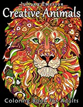 Creative Animals Coloring Book for Adults