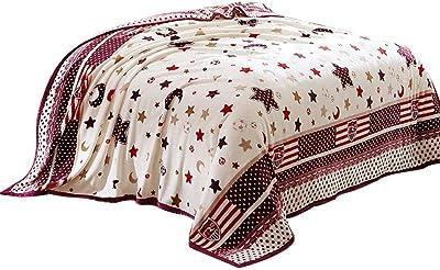 Mystery Melody Premium Velvet Plush Luxury Blanket Fuzzy Cozy All-Season Throw  Blanket c9f4e4ee0