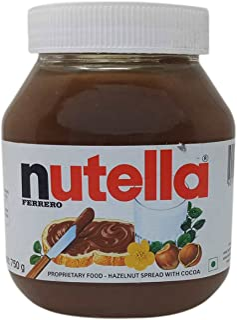 Nutella Hazelnut Spread with Cocoa, 750g Jar